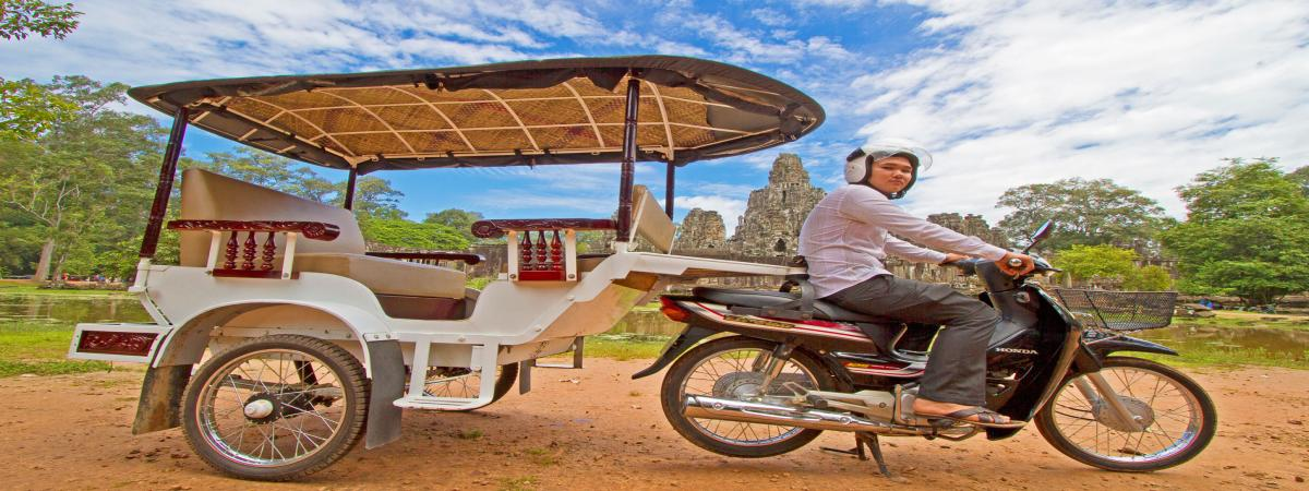 Siem Reap Budget Tours by TUK TUK